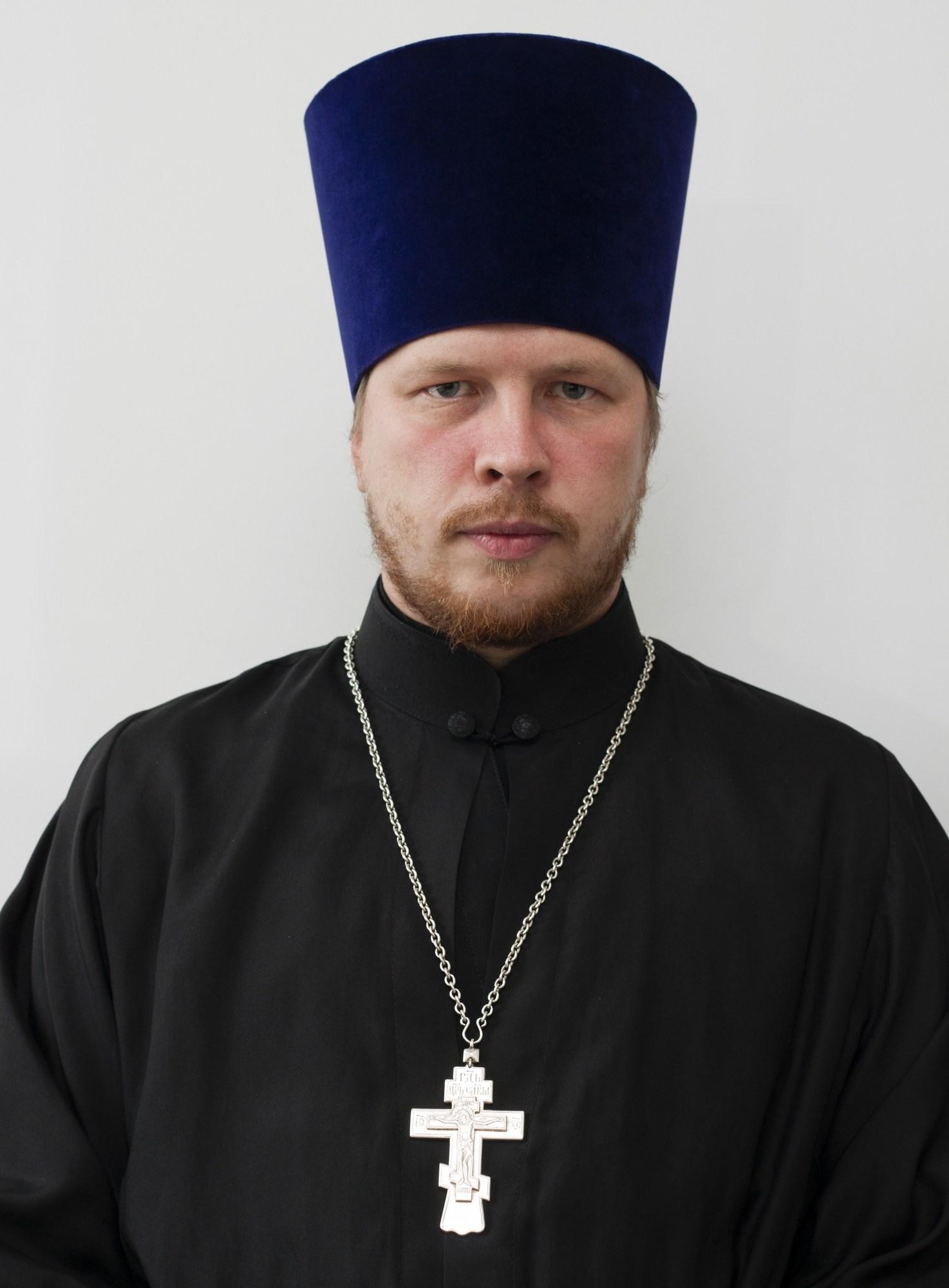 Священник Павел Евгеньевич Чесноков